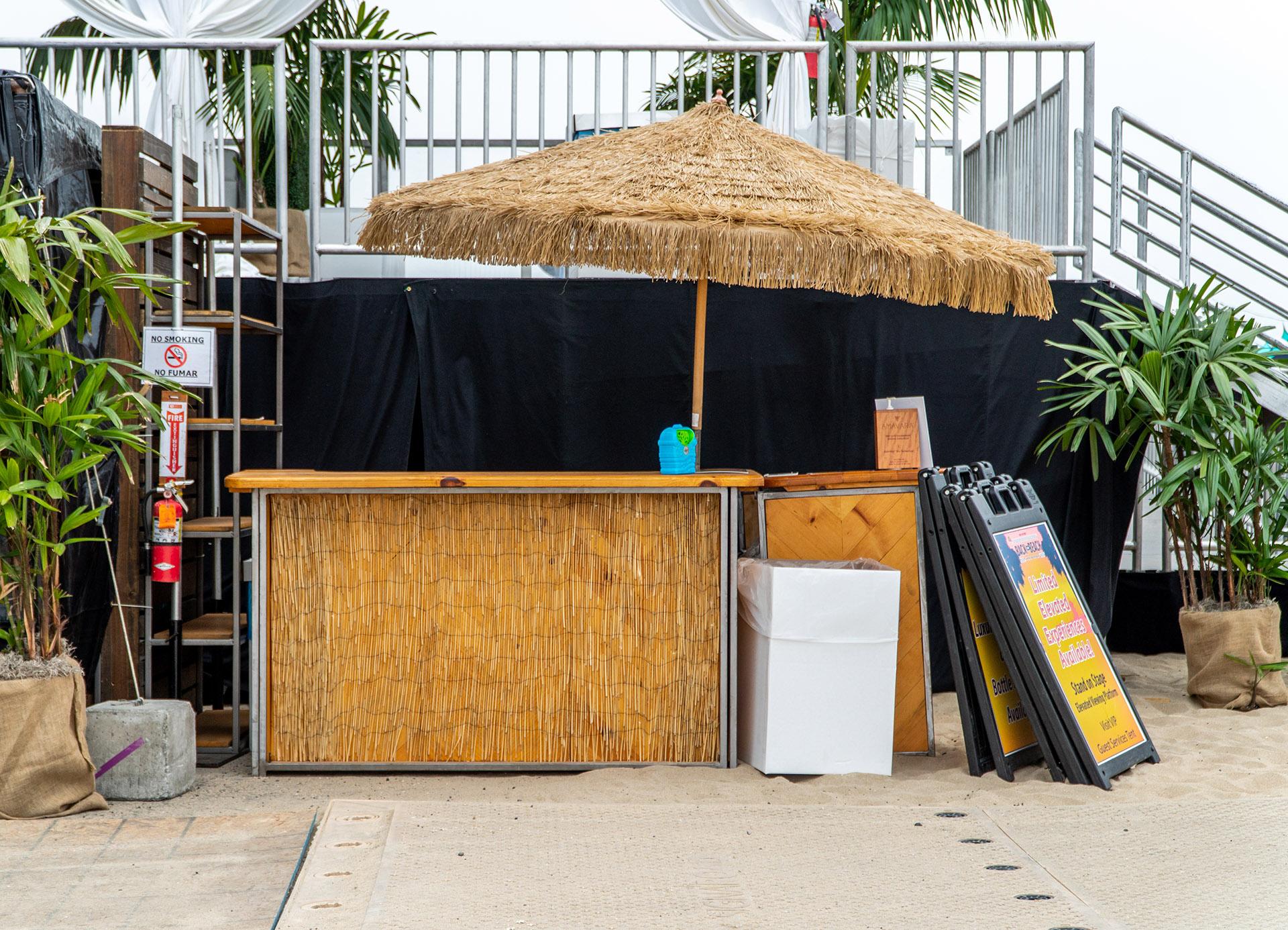 Tiki Bar Set Up A1 Party Rental